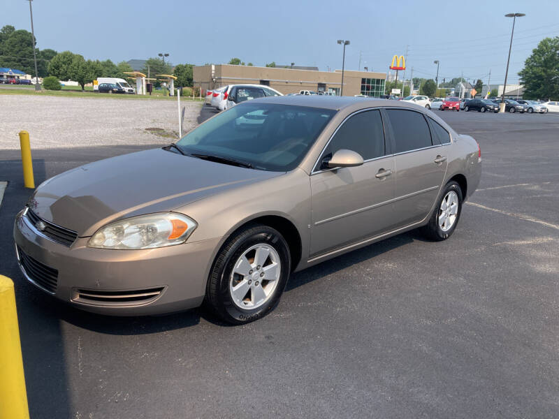 2006 Chevrolet Impala for sale at McCully's Automotive - Under $10,000 in Benton KY