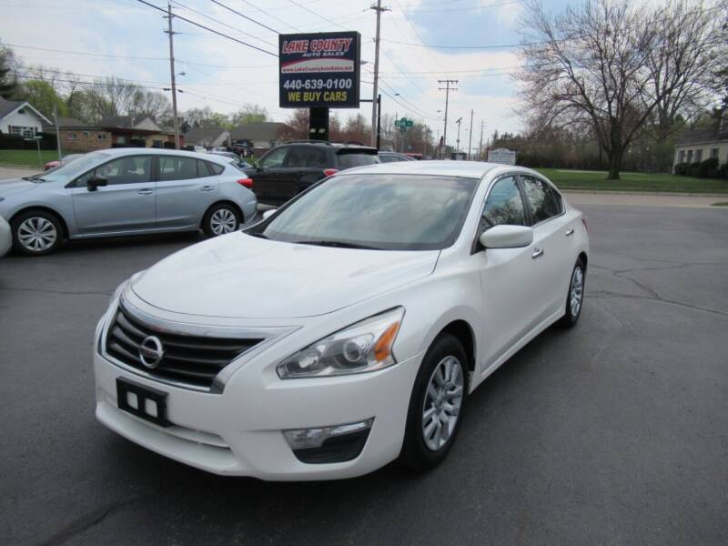 2013 Nissan Altima for sale at Lake County Auto Sales in Painesville OH