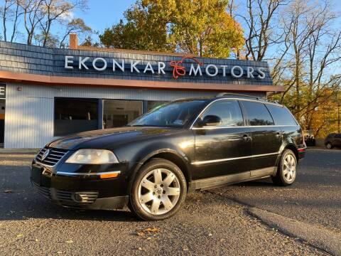 2005 Volkswagen Passat for sale at Ekonkar Motors in Scotch Plains NJ