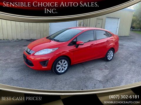 2013 Ford Fiesta for sale at Sensible Choice Auto Sales, Inc. in Longwood FL