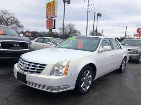 2007 Cadillac DTS for sale at RJ AUTO SALES in Detroit MI