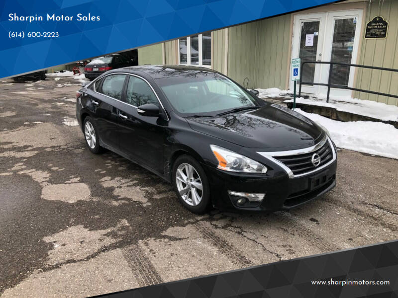 2014 Nissan Altima for sale at Sharpin Motor Sales in Columbus OH
