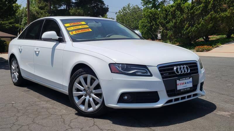 2009 Audi A4 for sale at CAR CITY SALES in La Crescenta CA