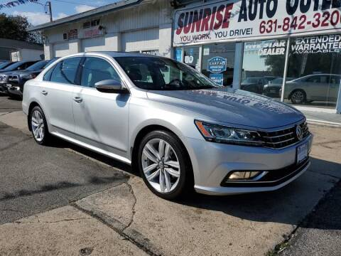 2017 Volkswagen Passat for sale at Sunrise Auto Outlet in Amityville NY