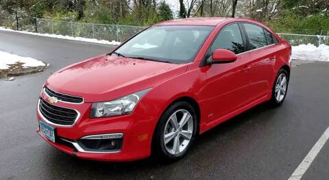 2015 Chevrolet Cruze for sale at Ace Auto in Jordan MN