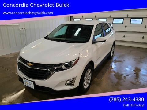 2021 Chevrolet Equinox for sale at Concordia Chevrolet Buick in Concordia KS