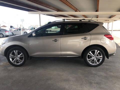 2010 Nissan Murano for sale at Kann Enterprises Inc. in Lovington NM