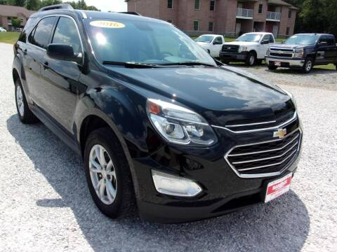 2016 Chevrolet Equinox for sale at BABCOCK MOTORS INC in Orleans IN