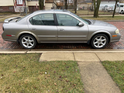 2001 Nissan Maxima for sale at RIVER AUTO SALES CORP in Maywood IL