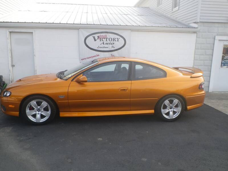 2006 Pontiac GTO for sale at VICTORY AUTO in Lewistown PA
