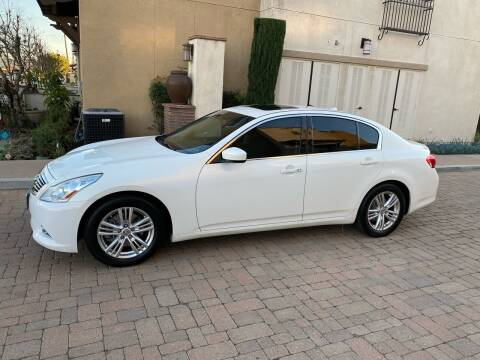 2013 Infiniti G37 Sedan for sale at California Motor Cars in Covina CA