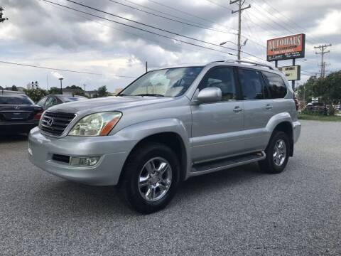 2004 Lexus GX 470 for sale at Autohaus of Greensboro in Greensboro NC