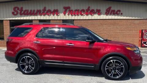 2013 Ford Explorer for sale at STAUNTON TRACTOR INC in Staunton VA