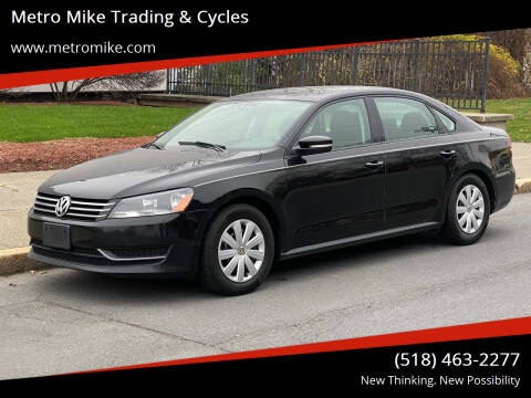 2014 Volkswagen Passat for sale at Metro Mike Trading & Cycles in Albany NY