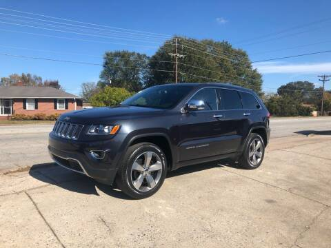 2014 Jeep Grand Cherokee for sale at E Motors LLC in Anderson SC