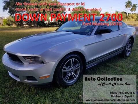 2010 Ford Mustang for sale at AUTO COLLECTION OF SOUTH MIAMI in Miami FL