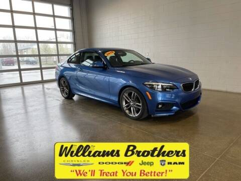 2018 BMW 2 Series for sale at Williams Brothers - Pre-Owned Monroe in Monroe MI
