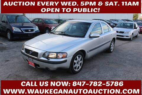 2003 Volvo S60 for sale at Waukegan Auto Auction in Waukegan IL