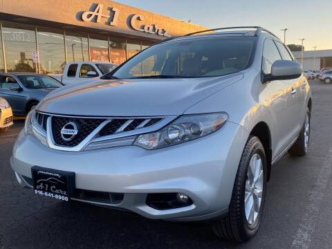 2013 Nissan Murano for sale at A1 Carz, Inc in Sacramento CA