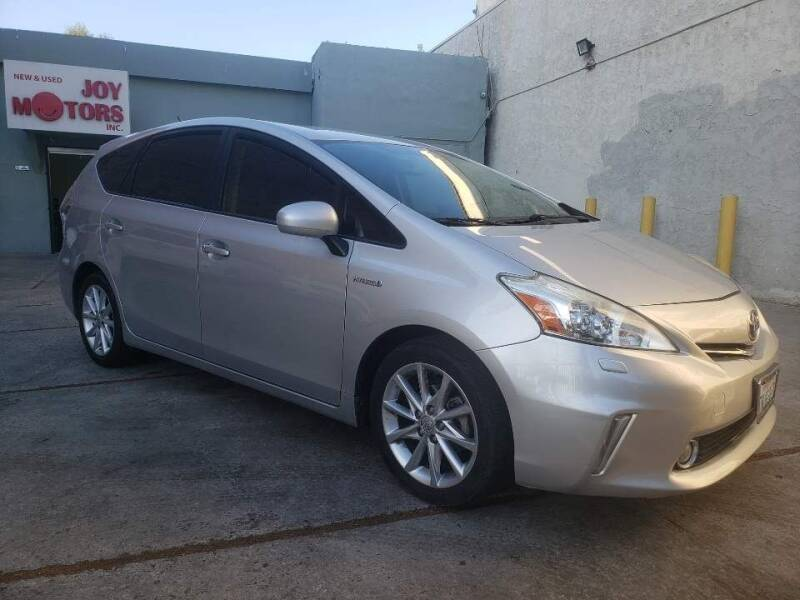 2013 Toyota Prius v for sale at Joy Motors in Los Angeles CA