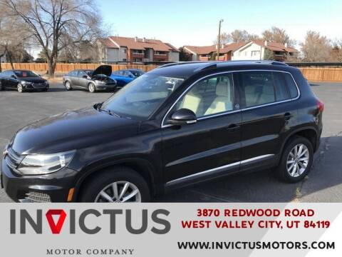2017 Volkswagen Tiguan for sale at INVICTUS MOTOR COMPANY in West Valley City UT