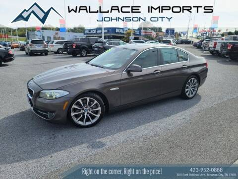 2013 BMW 5 Series for sale at WALLACE IMPORTS OF JOHNSON CITY in Johnson City TN