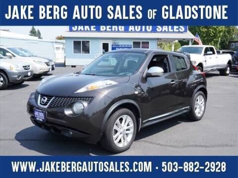2012 Nissan JUKE for sale at Jake Berg Auto Sales in Gladstone OR
