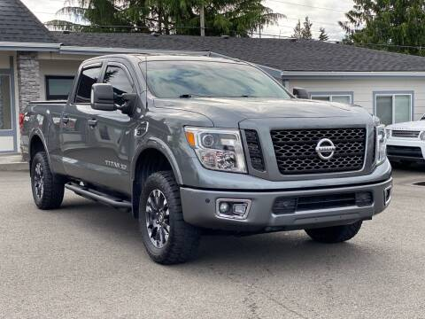 2016 Nissan Titan XD for sale at Lux Motors in Tacoma WA