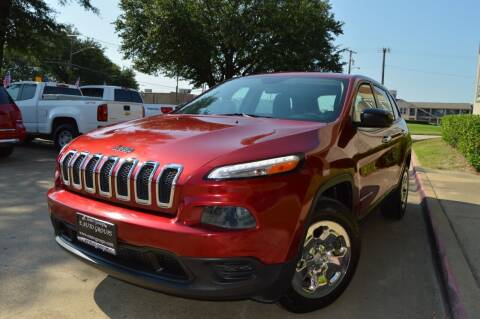 2014 Jeep Cherokee for sale at E-Auto Groups in Dallas TX