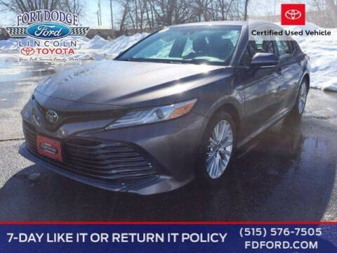 2018 Toyota Camry Hybrid for sale at Fort Dodge Ford Lincoln Toyota in Fort Dodge IA