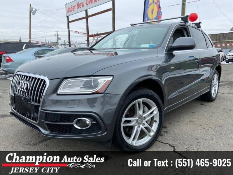 2014 Audi Q5 for sale at CHAMPION AUTO SALES OF JERSEY CITY in Jersey City NJ