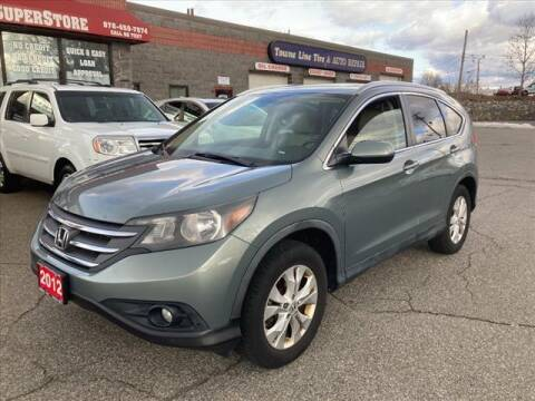 2012 Honda CR-V for sale at AutoCredit SuperStore in Lowell MA