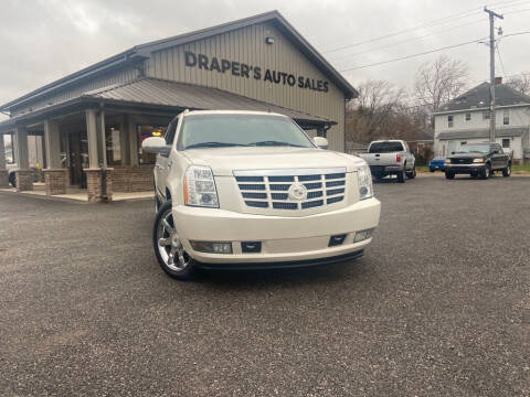 2011 Cadillac Escalade ESV for sale at Drapers Auto Sales in Peru IN