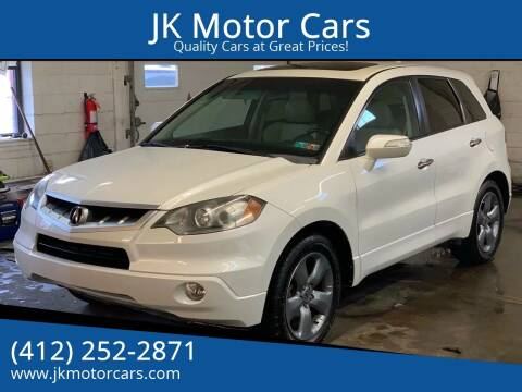 2007 Acura RDX for sale at JK Motor Cars in Pittsburgh PA