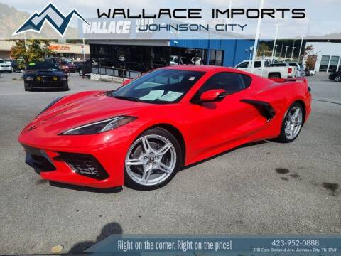 2021 Chevrolet Corvette for sale at WALLACE IMPORTS OF JOHNSON CITY in Johnson City TN