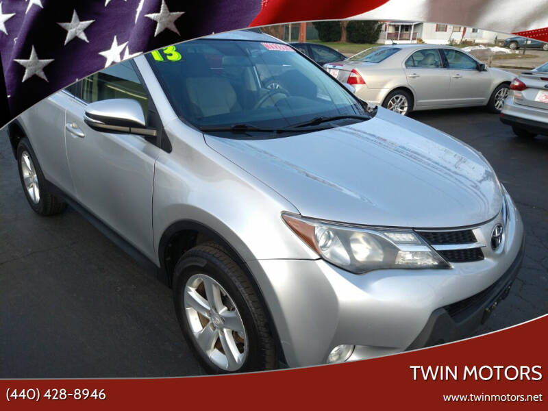 2013 Toyota RAV4 for sale at TWIN MOTORS in Madison OH
