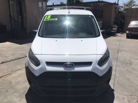 2015 Ford Transit Connect Cargo for sale at DEL CORONADO MOTORS in Phoenix AZ
