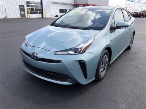 2021 Toyota Prius for sale at White's Honda Toyota of Lima in Lima OH