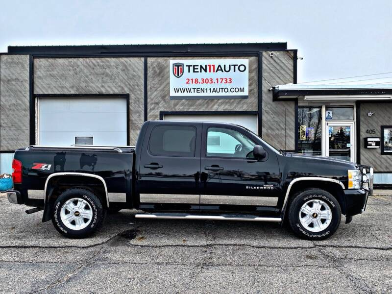 2011 Chevrolet Silverado 1500 for sale at Ten 11 Auto LLC in Dilworth MN