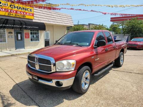 2008 Dodge Ram Pickup 1500 for sale at 2nd Chance Auto Sales in Montgomery AL