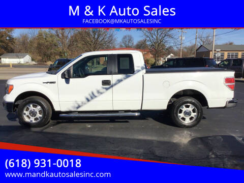 2011 Ford F-150 for sale at M & K Auto Sales in Granite City IL