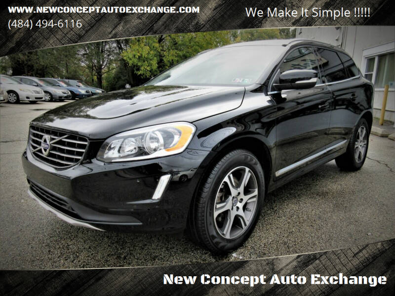 2014 Volvo XC60 for sale at New Concept Auto Exchange in Glenolden PA