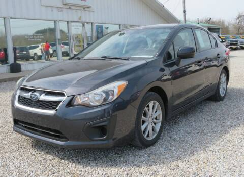2012 Subaru Impreza for sale at Low Cost Cars in Circleville OH