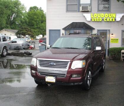2006 Ford Explorer for sale at Loudoun Used Cars in Leesburg VA