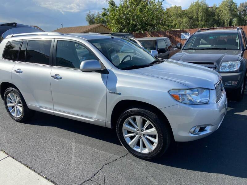 2008 Toyota Highlander Hybrid for sale at Coast Auto Motors in Newport Beach CA
