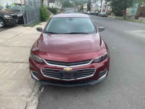2016 Chevrolet Malibu for sale at Best Cars R Us LLC in Irvington NJ