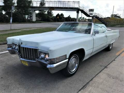 1970 Cadillac DeVille for sale at SARCO ENTERPRISE inc in Houston TX