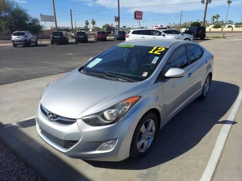 2012 Hyundai Elantra for sale at Century Auto Sales in Apache Junction AZ