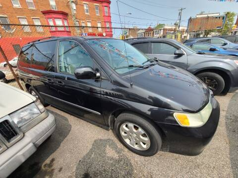 2003 Honda Odyssey for sale at Rockland Auto Sales in Philadelphia PA
