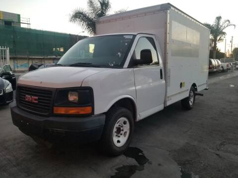 2011 GMC Savana Cutaway for sale at GENERATION 1 MOTORSPORTS #1 in Los Angeles CA